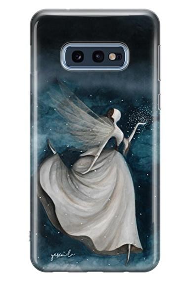 Lopard Samsung Galaxy S10E Kılıf Gece Perisi Kapak Renkli